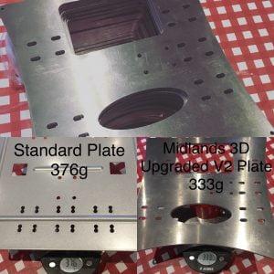 wanhao i3 aluminium plate