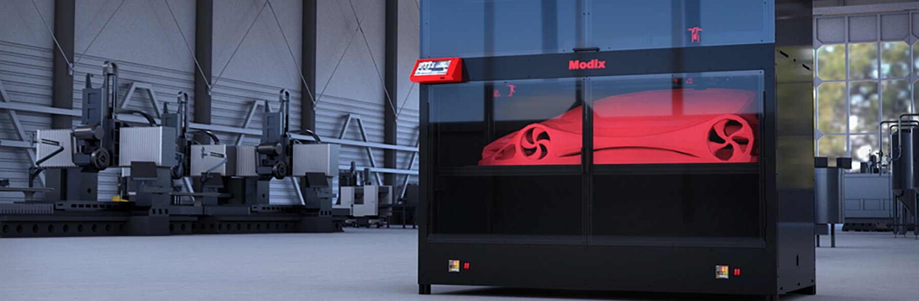 Transform and innovate your business model with large format 3D printing